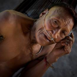 Man from isolated nahua tribe