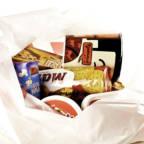 Handlepose med matvarer