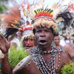Portrait indigenous peoples of Managalas