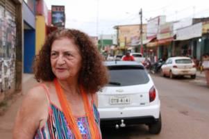 Antonia Melo i hjembyen Altamira