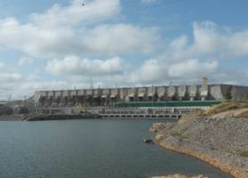 Oversiktsbilde av Belo Monte i Brasil